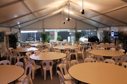 Round Banquet Table 1 8m Or 6ft Party Hire Products